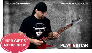 Gitarre lernen für Beginner: SOLO FÜR DUMMIES