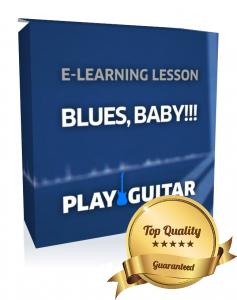 lerne Blues auf der Gitarre spielen