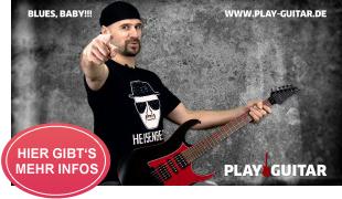 Online Gitarrenkurs für Fortgeschrittene: BLUES, BABY!!!