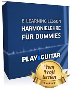 Harmonielehre Gitarre lernen