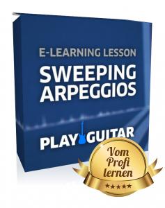 Sweeping jetzt lernen bei Play Guitar
