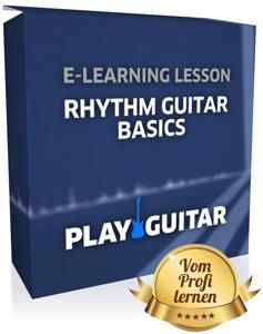 Rhythmusgitarre lernen