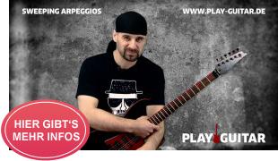 Online Gitarrenkurs für Rockstars: SWEEPING ARPEGGIOS